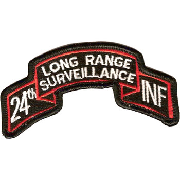 24th LRS Infantry Patch