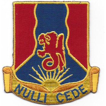 249th Field Artillery Regiment Patch