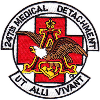 247th Aviation Medical Detachment Air Ambulance Patch