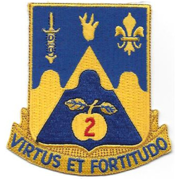 205th Armor Regiment Patch