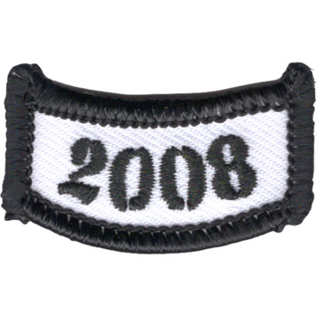2008 Rocker Bottom Tab Patch