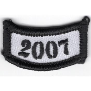 2007 Rocker Bottom Tab Patch