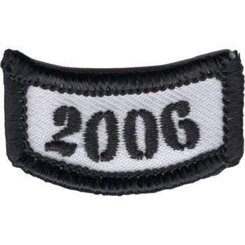 2006 Rocker Bottom Tab Patch