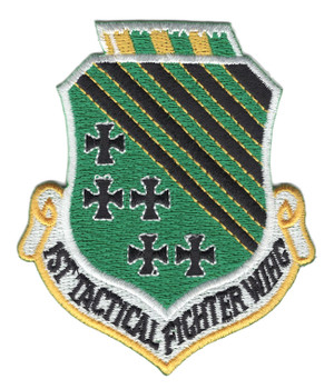 1st Tactical Fighter Wing Patch
