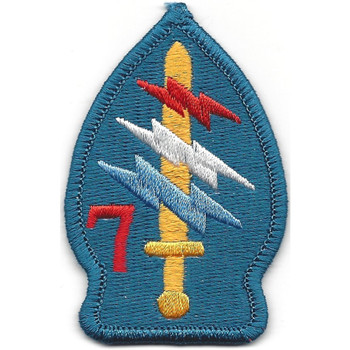 7th Special Forces Group Project White Star Patch