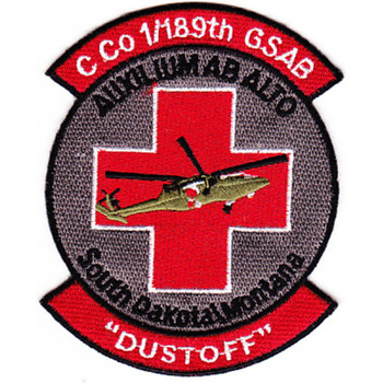 1st Squadron 189th GSAB Charlie Company Medical Evacuation Patch