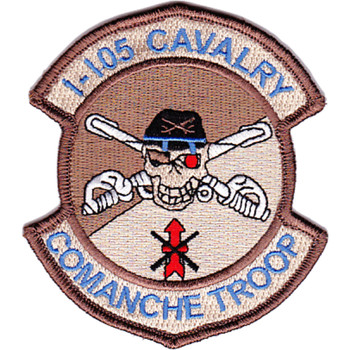 1st Squadron 105th Aviation Cavalry Regiment Desert Patch Hook And Loop