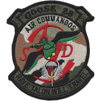 1st Special Operations Squadron Goose 28 Patch