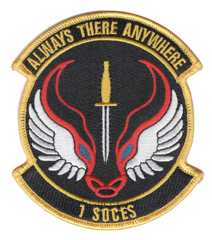 1st Special Operations Civil Engineering Squadron Patch