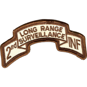 2nd Infantry Long Range Desert Patch