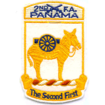 2nd Field Artillery Battalion Patch