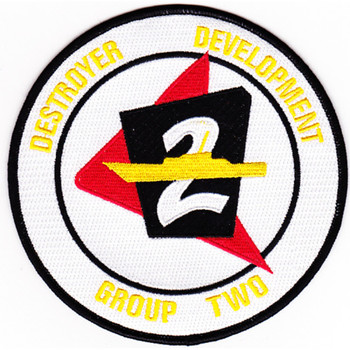 2nd COMDESDEVGRU Destroyer Development Group Patch - Version B