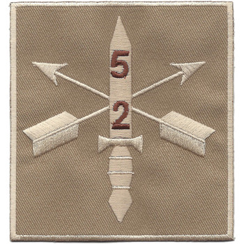 2nd Battalion 5th Special Forces Group Combat Helmet Desert Patch