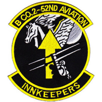 2nd Battalion 52nd Aviation Regiment Company B Patch