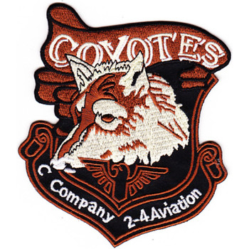 2nd Battalion 4th Aviation Regiment C Company Patch
