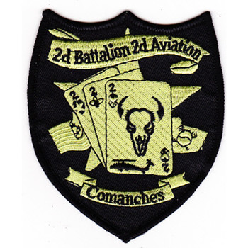 2nd Battalion 2nd Aviation Attack Regiment C Company Patch - Subdued