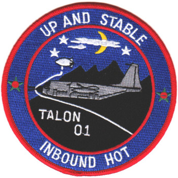 1st SOS Special Operations Squadron Patch Talon 01