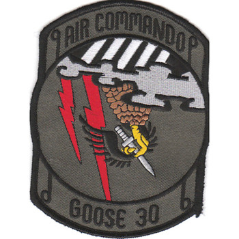 1st SOS Special Operations Squadron Patch Goose 30