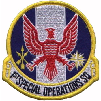 1st SOS Patch Special Operations Squadron