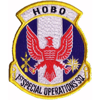 1st SOS Patch HOBO Special Operations Squadron