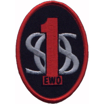 1st SOS EWO Electronic Weapons Officer Patch