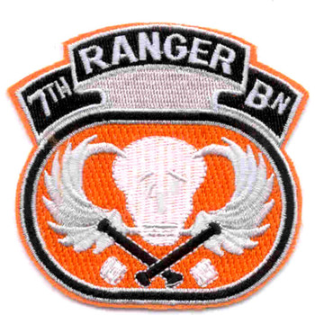 7th Ranger Battalion Patch