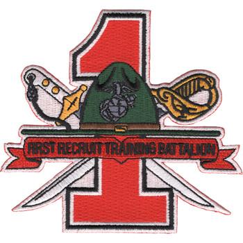 1st Recruit Training Battalion San Diego California Patch