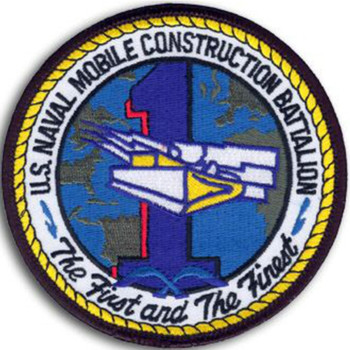 1st Naval Mobile Construction Battalion Patch
