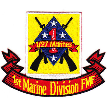 1st Battalion 27th Marines Patch