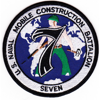 7th Mobile Construction Battalion Patch