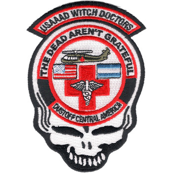 1st Battalion 228th Aviation Air Ambulance Skull Patch