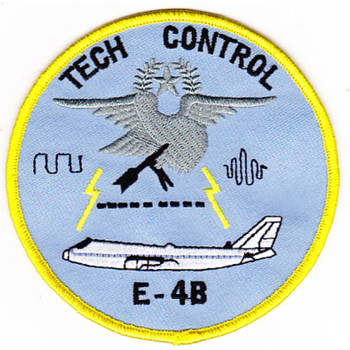 1st Airborne Command And Control Squadron Tech Control E-4B Patch