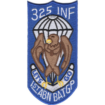 1st Airborne Battle Group-325th Infantry Regiment Patch