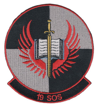 19th SOS Special Operations Squadron Patch