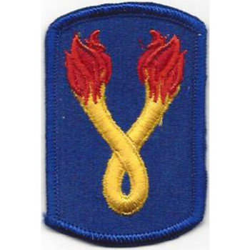 196th Infantry Brigade Patch