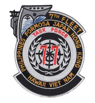 7th Fleet Task Force 77 Patch