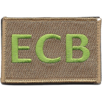 22nd Training Squadron ECB Green Patch Hook And Loop