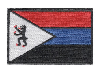 22nd SERE Training Squadron Black Lion Patch Hook And Loop | Center Detail