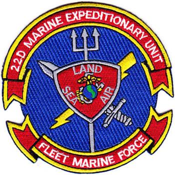 22nd Marine Expeditionary Unit Patch Fleet Marine Force