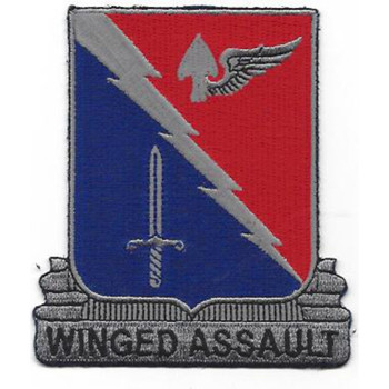 229th Aviation Regiment Patch