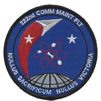 222nd Communication Maintenance Flight Patch