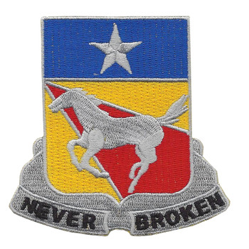 221st Cavalry Regiment Patch