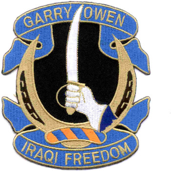 7th Cavalry Regiment Patch - Iraqi Freedom