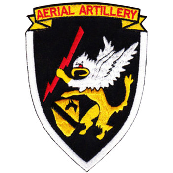 2/20 Ara 1st Cavalry Division Aerial Rocket Artillery Patch