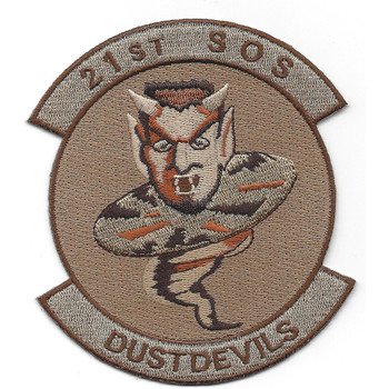 21st SOS Special Operations Squadron Desert Patch