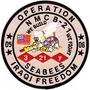 21st Mobile Construction Battalion OIF Patch