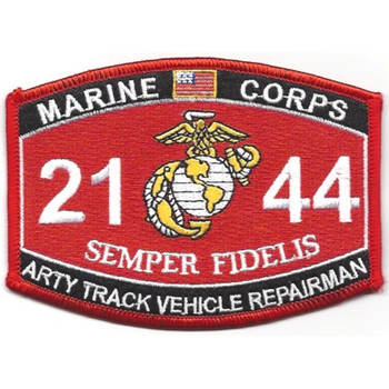 2144 Artiliary Track Vehicle Repairman MOS Patch