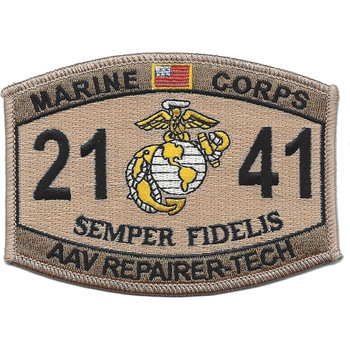 2141 AAV Repairer-Technician Desert Patch