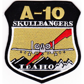 190 Fighter Sqd A-10 Idaho NG Patch