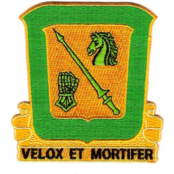18th Cavalry Regiment Patch